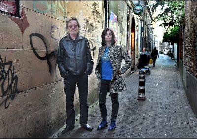 Foto van Ruben Oreel: Jan J.B. Kuipers en ik, oftewel De Hoeders van Sinister Zeeland.